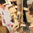 札幌デザインウィークが日曜日まで開催されていましたね。チカホで「みんなでつくるコッパツリー」を見てきました。